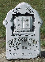 Lee Compere Headstone